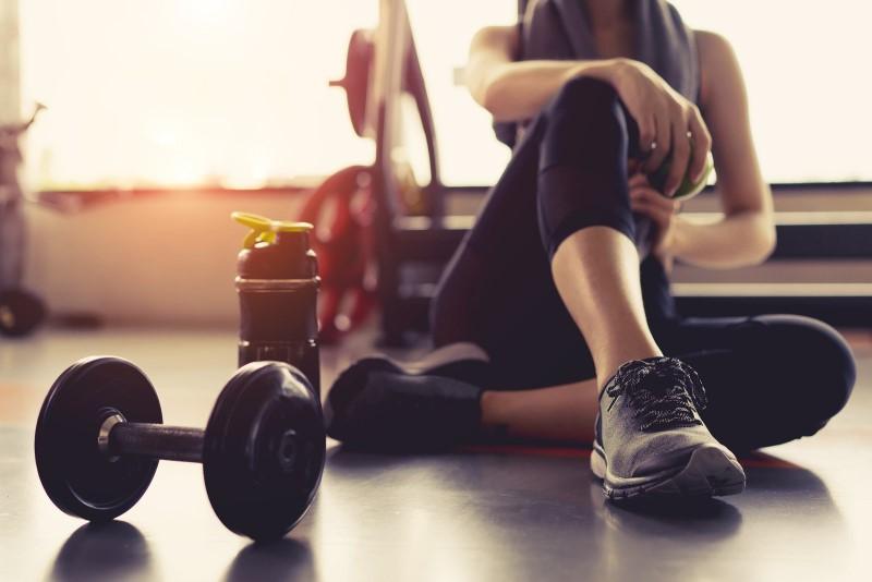 odpoczynek siłownia fitness