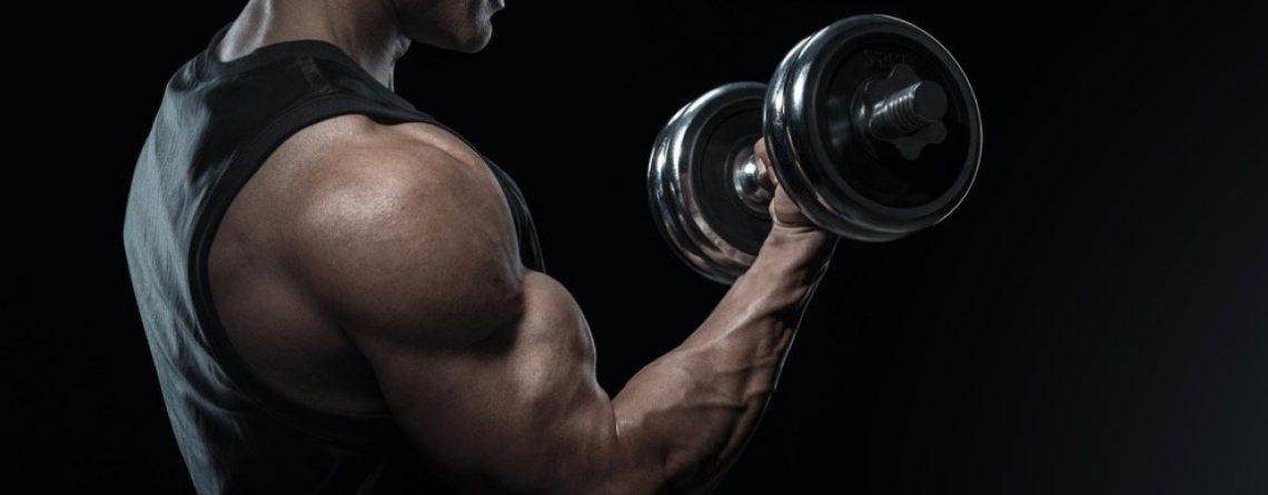 ćwiczenie na biceps