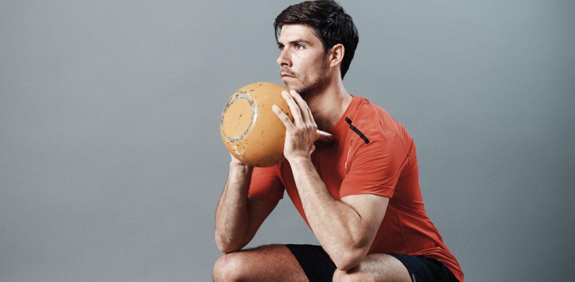 trening biegacza goblet squat
